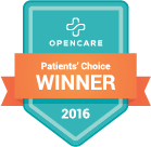 OpenCare Patient's Choice Winner logo